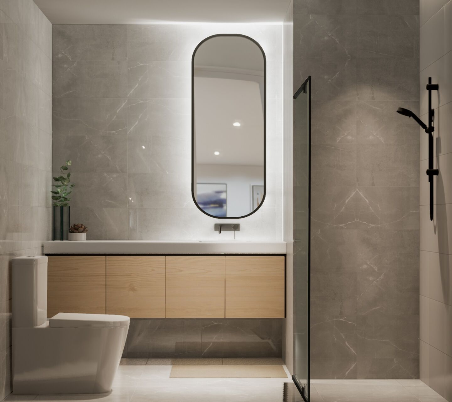 Henley Apartments Bathroom Medium Scheme
